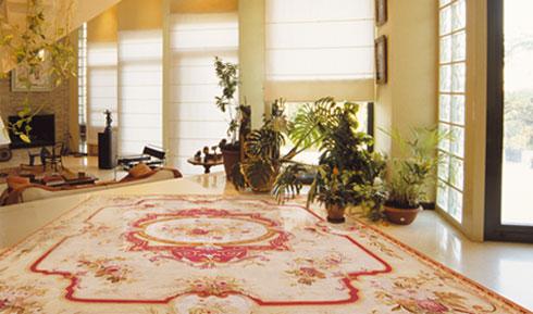 tapis art d aubusson par tapisserie royale. Black Bedroom Furniture Sets. Home Design Ideas